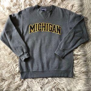 University of Michigan Sweatshirt - Gray